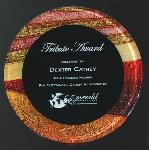 Round Multi-Color Acrylic Plaque