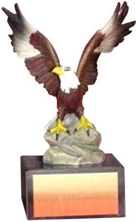 Hand Painted Eagle